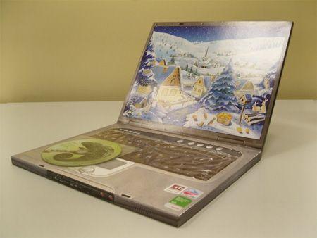 chocalate laptop